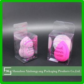 生产厂家直销 PVC化妆刷透明胶盒