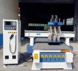 三工序气动换刀木工雕刻机全自动数控开料机