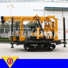 华巨直供XYD-200型履带式液压打井机 小型勘探钻机