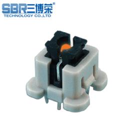 三博榮SBR-進口帶led燈輕觸開關 雙色帶燈自鎖按鍵開關 帶外殼