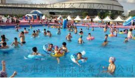 大型户外水上乐园儿童充气水滑梯玩具闯关成人支架水池