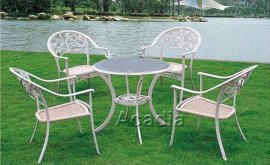 戶外休閒鑄鋁桌椅(ALT-010-3)