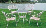 户外休闲铸铝桌椅(ALT-010-3)