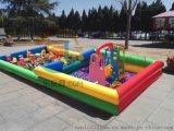 內蒙古興安盟兒童充氣沙灘池現貨