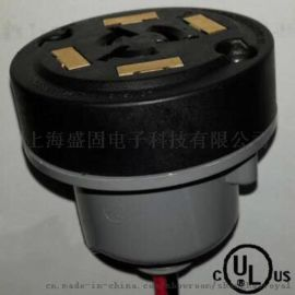 NEMA插座 ANSI  7 Pin 0-10V DALI Twist-Lock Dimming Receptacle  LED光控制器灯具感应开关调光底座