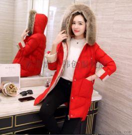 韩版秋冬呢子大衣厂家直销长款女士外套毛呢风衣清