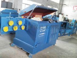 环保型全自动送料剥壳调直无酸洗剥壳拉丝SC-28除锈机