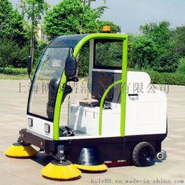 小区树叶清扫用驾驶式扫地机