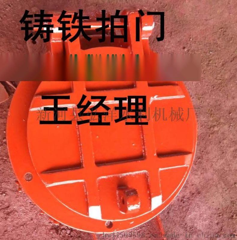 排水防倒灌1200mm铸铁拍门供应商