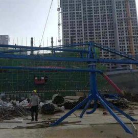 南宁市建程牌15米手动布料机电动布料机厂家安装指导