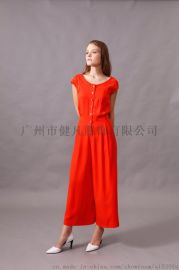 品牌折扣女装尾货,韩版休闲时尚连衣裙
