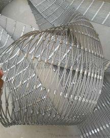 室内楼梯安全防护不锈钢绳护栏网厂家