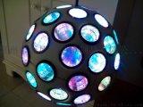 彩色球形吊燈