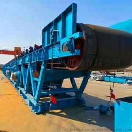 大倾角带式输送机 设计各种固定式皮带机