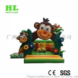 充气蹦床跳床 猴子主题 可定制