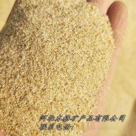 本格供应净水处理石英砂滤料 铸造石英砂