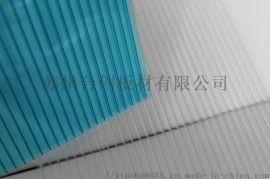 烟台拜贝耳双层透明PC阳光板,耐力板,采光板