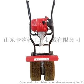 手推式除锈机 河南一件代发钢瓦翻新打磨机