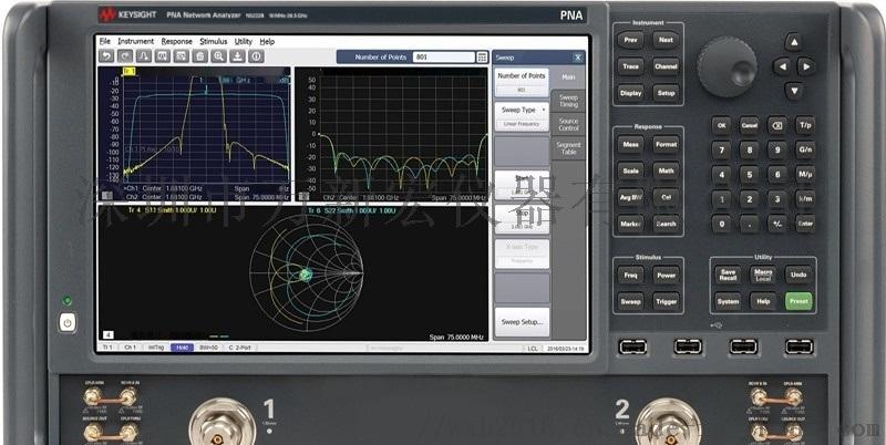安捷倫N5222B網路分析儀維修