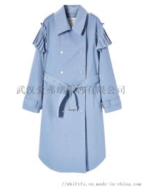 服装进货一般在哪香港影儿风衣外套长款【一手货源】