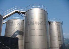 定制5-80立方不锈钢储罐 立式玻璃钢液体存储罐