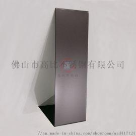 高比喷砂黑色不锈钢板    304不锈钢装饰材料