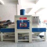 中山喷砂机, 电镀挂具除油漆批量处理自动喷砂机
