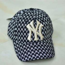 在唐定制棒球帽 NY满印棒球帽 logo刺绣棒球帽