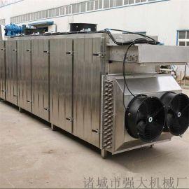 生姜烘干机 网带式连续烘干设备