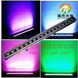 18颗RGBW四合一DMX512防水DMX512洗墙灯 LED舞台灯光 长条灯 线条灯