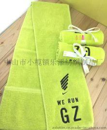 厂家定制广告礼品纯棉健身运动毛巾,超细纤维健身运动毛巾,印花绣花健身运动毛巾