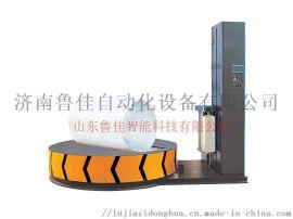 无纺布缠绕机-熔喷布包膜机-圆筒缠膜包装机