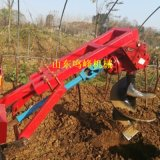 拖拉机挖坑植树专用设备