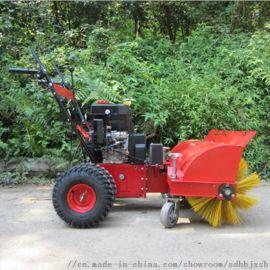小型手推式扫雪机,滚刷式道路清理清雪机