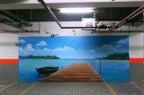 南京常州扬州车库涂鸦墙绘图1 手绘墙画