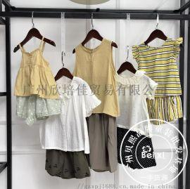 19新款尚童&蜜思莉韓風系列時尚夏裝品牌走份