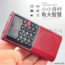 快乐相伴L-328插卡录音机老年人收音机 便携式播放器