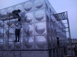 移动水箱 玻璃钢钢制水箱 不锈钢消防水箱美观大方
