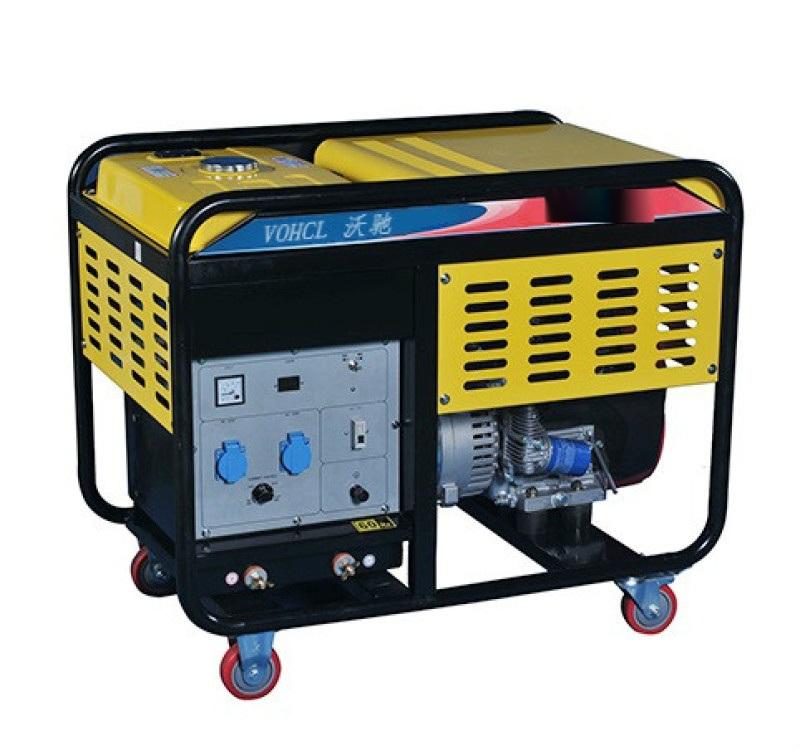 内燃300A柴油发电电焊机一体两用机发电机带氩弧焊