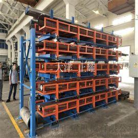 大连货架存放管材、棒料、圆钢、轴类的重型货架
