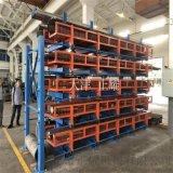 大連貨架存放管材、棒料、圓鋼、軸類的重型貨架