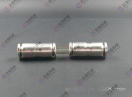 同徑PU快插直通接頭4-16mm不鏽鋼快速直通 304直通快插接頭