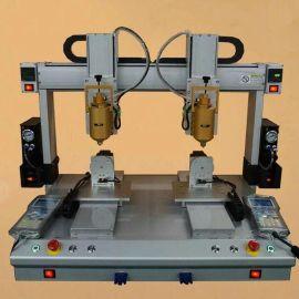 全自动双头台式点胶机 四轴AB胶点胶平台 热熔胶多头打胶机**