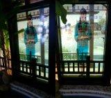 工厂84寸65寸液晶LCD透明广告机液晶透明显示屏橱柜展示柜55寸