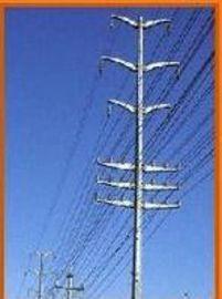 华兴 新疆10KV电力杆、电力杆及高尔夫球场网杆 电力钢杆