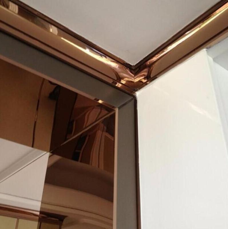 304不锈钢线条、不锈钢装饰线条天花线地脚线加工定制厂家