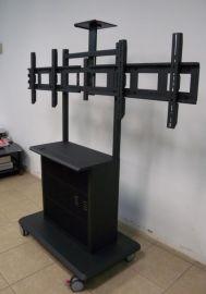 双屏电视移动支架LP80T-2款/挂左右双屏两台支架