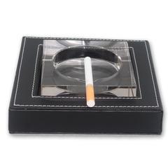 家居皮革烟灰缸烟灰盅包皮烟缸