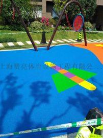 彩色钢化地平  合肥弹性丙烯酸液体地平材料