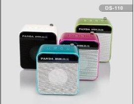 熊猫DS-110数码音响U盘SD存储卡迷你音箱数码播放器